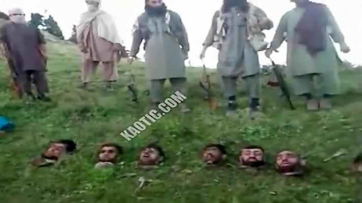 جنایات طالبان وحشی