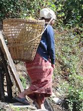 Photo: Old woman in Ulleri