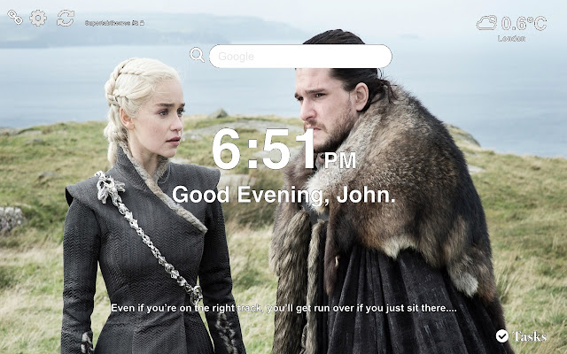 Jon Snow Wallpapers New Tab Themes