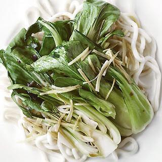 Ginger Pak Choi Stir-fry