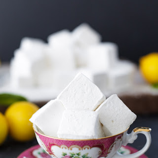 Homemade Lemon Meringue Marshmallows