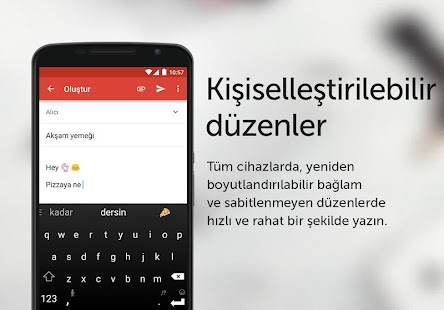 SwiftKey Klavye Screenshot