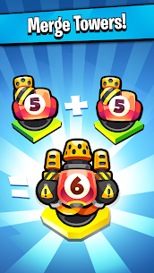 Merge TD: Idle Tower Defense Mod Apk Download For Android and Iphone 1