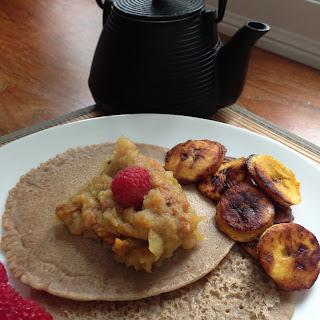 Buckwheat Millet Pancakes – Gluten Free – Egg Free – Dairy free.