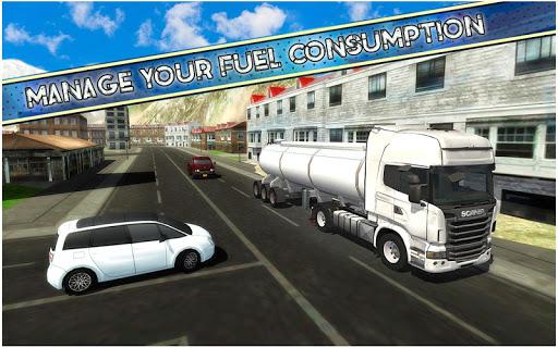 américain euro un camion Simulateur Jeux  captures d'écran 1