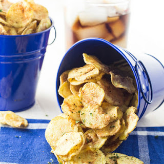 Baked Salt Free Potato Chips Recipes