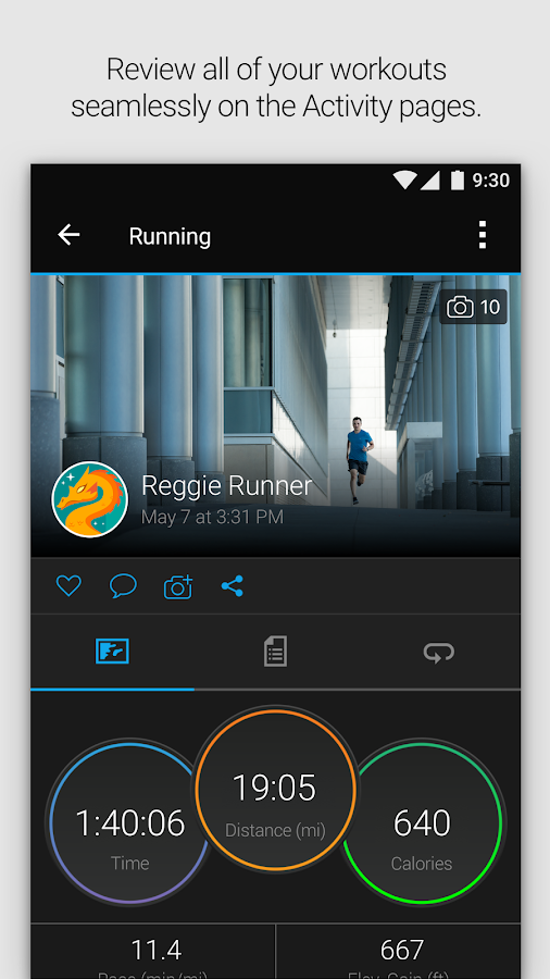 Garmin Connect™- screenshot