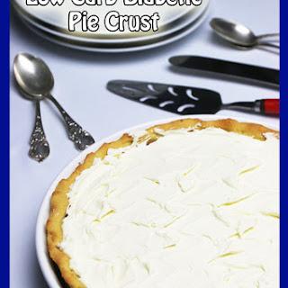Low Carb Diabetic Pie Crust.