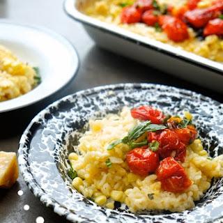 Baked Corn & Tomato Risotto