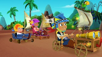 Race-Around Rock! / Captain Hook is Missing