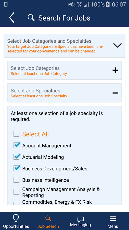 Analytic Recruiting- screenshot