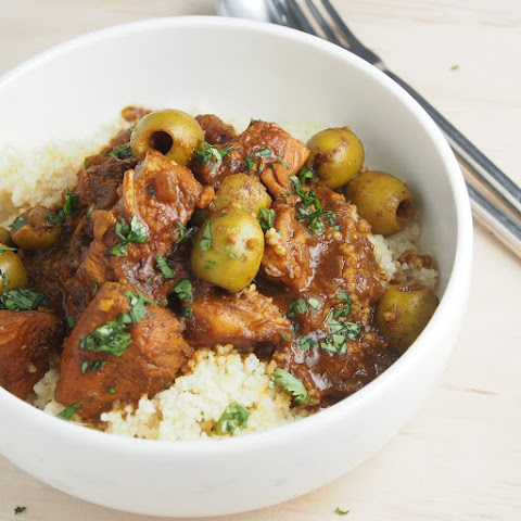 Moroccan Lamb and Chicken Stew with Couscous