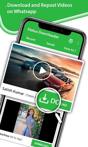 Status Downloader - Share Free Videos, Save Images 1.3 screenshots 2