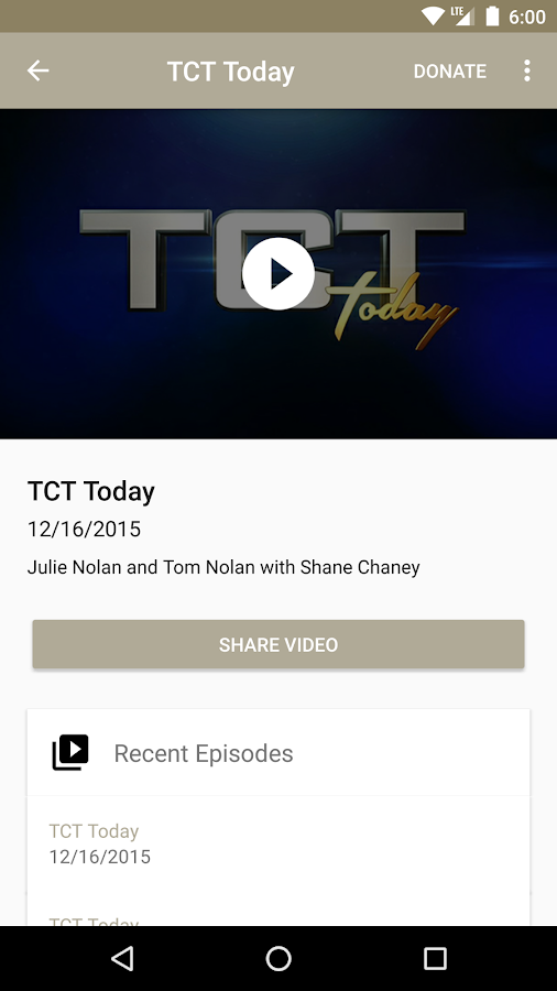 TCT - TV That Inspires- screenshot