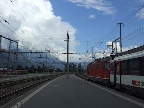 Photo: Sargans railway station