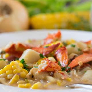 Lobster Corn Chowder