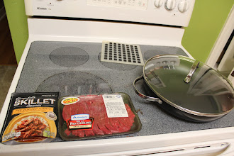 Photo: Getting everything set up to make dinner. Love that it is so easy to make! #Dinnerin15