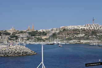 Photo: Ferry en Cirkewwa • Isla de Malta • www.viajesylugares.es/malta/gozo-ferry.html