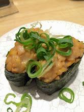 Photo: Natto Gunkan Maki: bean paste sushi