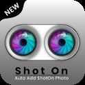 Shot On - Auto Add ShotOnCamera Photo 2020 icon