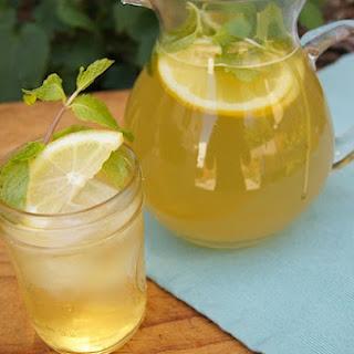 Honey Mint Green Iced Tea