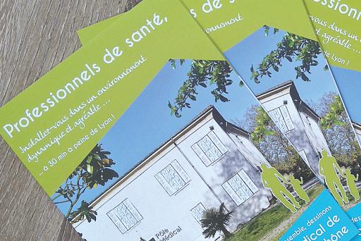 Commesunication territoriale - Création d'une plaquette institutionnelle - Saint Alban du Rhône - agence de communication mairie