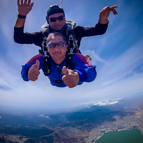 One for the Books by Apollo Reyes - Sports & Fitness Other Sports ( tandem, skydive, parachute )