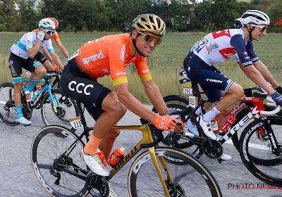 """Greg Van Avermaet vond het positioneren moeilijk in Tourrit met aankomst in Privas: """"Van Aert was heel sterk"""""""
