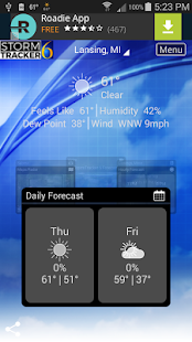 StormTracker 6 - Weather First- screenshot thumbnail