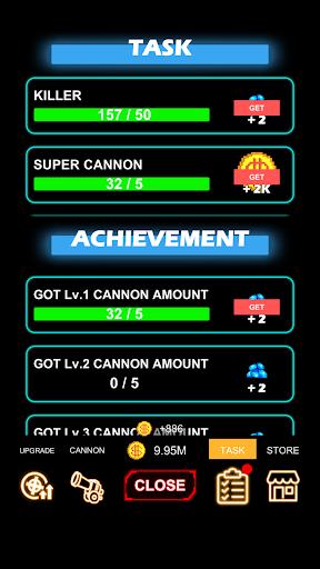 Cannon Defense-SciFi Idle apkmr screenshots 2