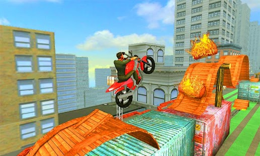 Tricky Motor Bike Racing Stunt Master - náhled