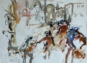 Photo: Tanz der Maskierten, Venedig, 56x76cm