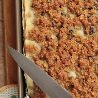 Oatmeal Bars with Creamy Ricotta Filling