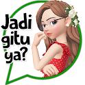 Stiker Cewe Cantik Indonesia WaStickerApps Sticker icon