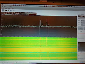Photo: Gqrx is a software defined radio receiver powered by the GNU Radio SDR framework and the Qt graphical toolkit. http://gqrx.dk/