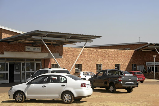The Mamelodi Hospital maternity ward where a baby boy died after birth following alleged maltreatment of the pregnant mother.