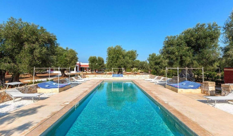 Villa avec piscine et jardin Ostuni