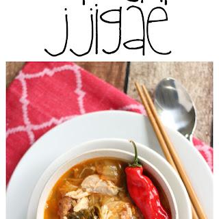 Simple Kimchi Stew - Kimchi Jjigae.