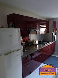 Appartement meublé 3 pièces 49 m2
