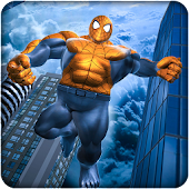 Incredible Monster Flying Spider Hero Game