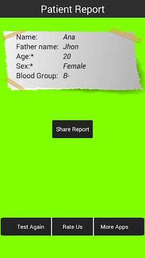 血型檢測,惡作劇|玩醫療App免費|玩APPs