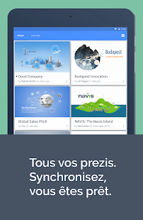 Prezi Viewer – Vignette de la capture d'écran