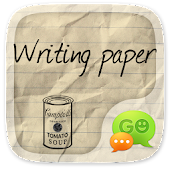 GO SMS PRO WRITING THEME
