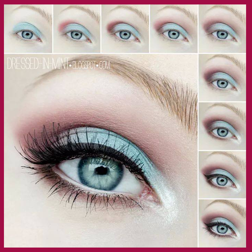 Eye makeup tutorials 遊戲 App LOGO-硬是要APP