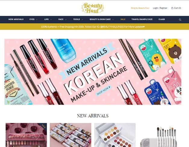 E-Commerce Beauty Haul
