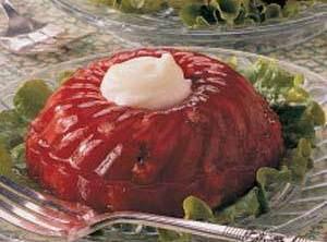 Strawberry-rhubarb Chilled Salad Recipe