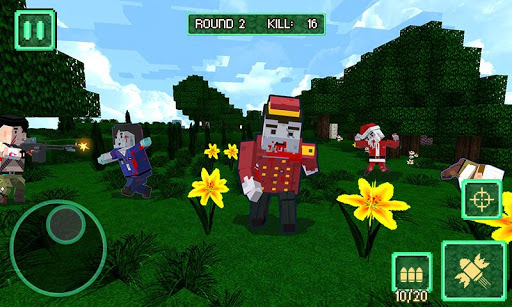 Pixel Battle City War - pixel block games screenshots 3