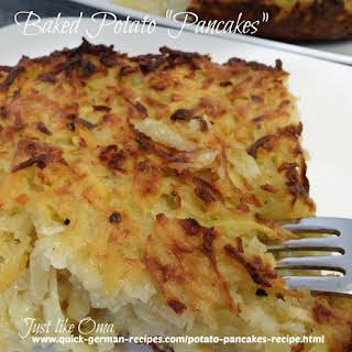 Baked Potato Pancakes Recipes.