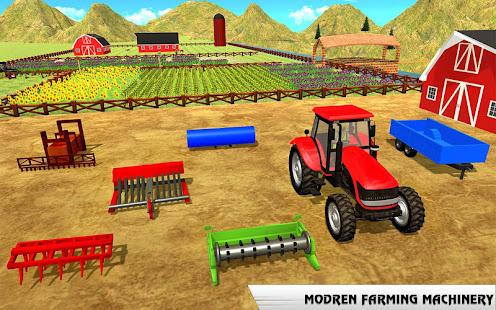 Rural Farming Tractor Simulation Farmer Games Apps On Google Play