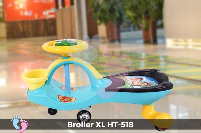 Xe lắc tay cho bé Broller XL HT-518 6